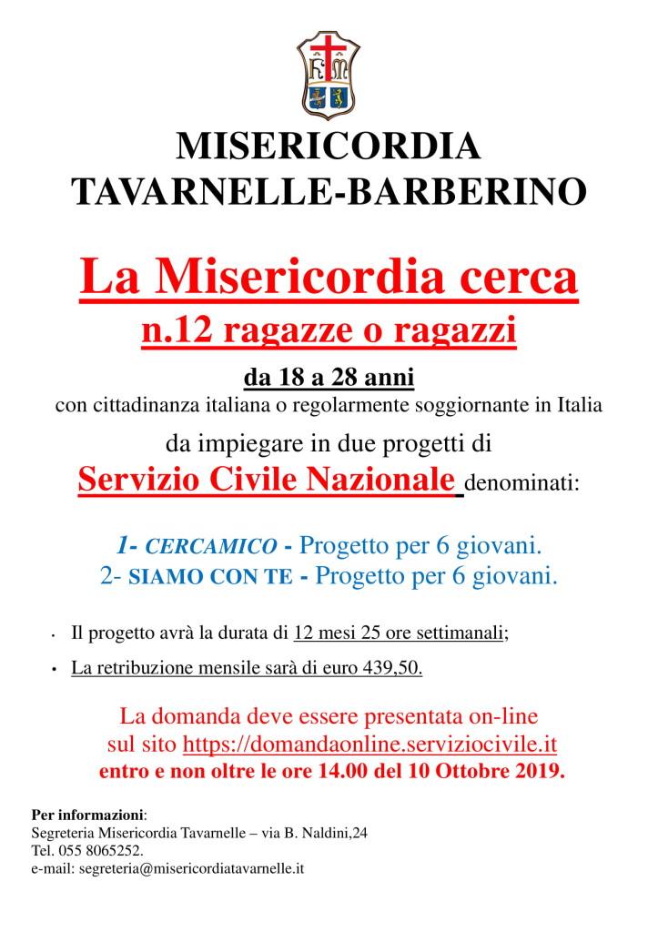 MANIFESTO servizio civile 2019-1